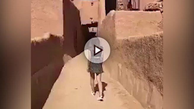 La joven detenida en Arabia Saudí por vestir falda