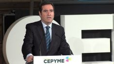 Antonio Garamendi, presidente de Cepyme.