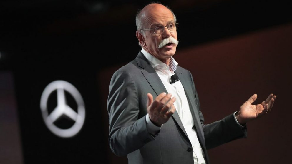 Dieter Zetsche, CEO de Grupo Daimler (Foto: Getty)