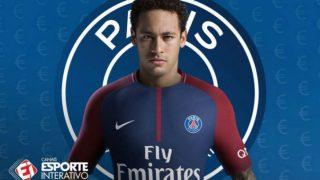 Neymar, con la camiseta del PSG.