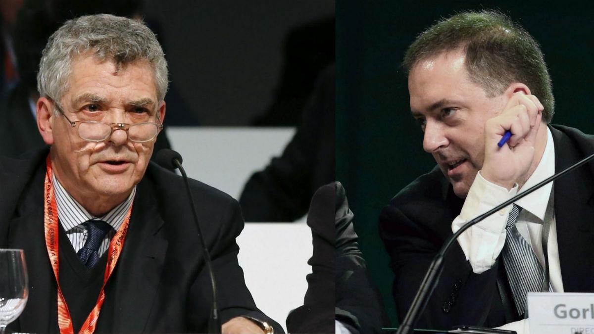 Villar y su hijo Gorka, en un evento. (Foto: atlantico.net)