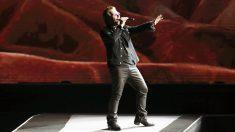 Bono, líder de U2. (Foto: EFE)
