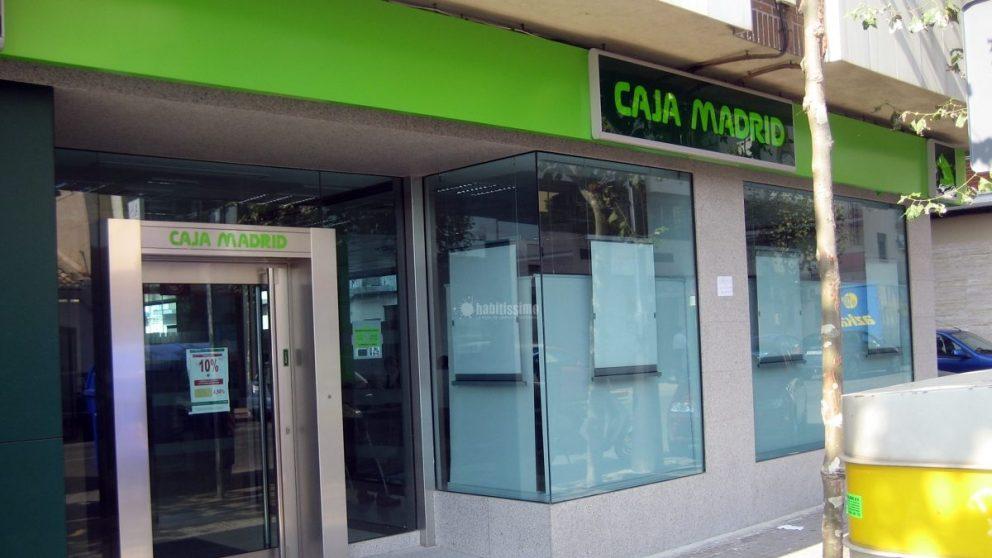 Sucursal de Caja Madrid.
