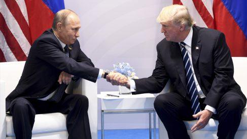 Vladimir Putin y Donald Trump. (Foto: AFP)