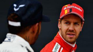 Con Hamilton a solo un punto de su liderato, a Sebastian Vettel no le ha quedado más remedio que reconocer el mal momento por el que pasa Ferrari. (Getty)