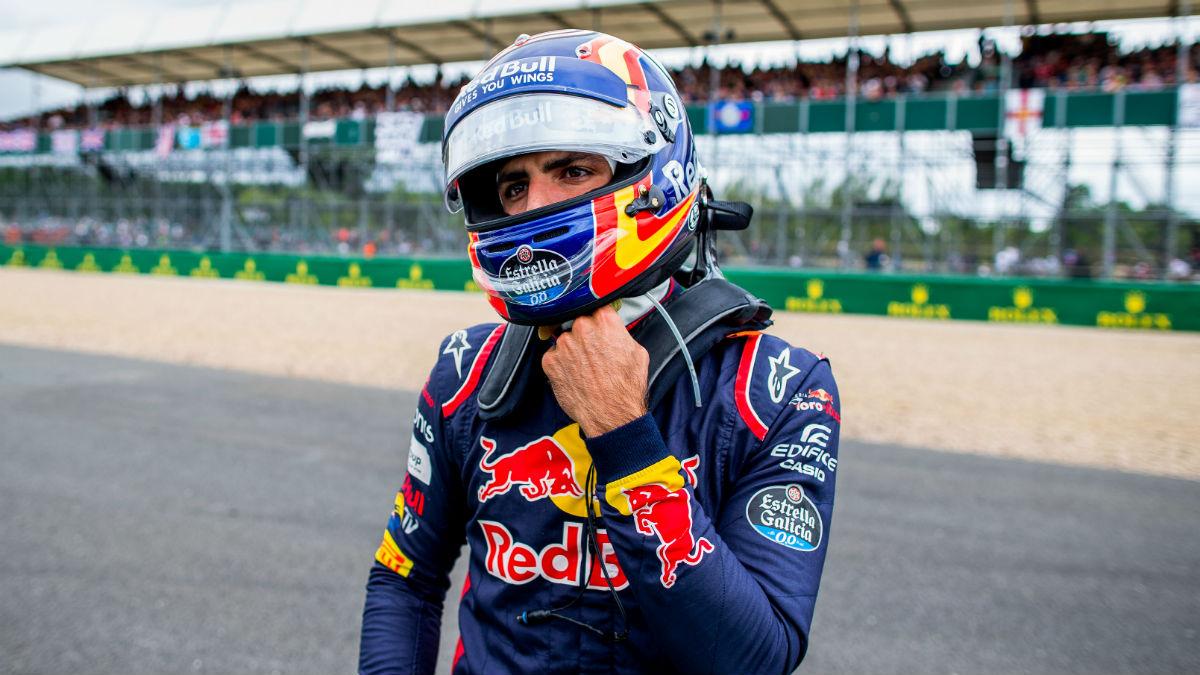 Christian Horner ha declarado que considerarían dejar marchar a Carlos Sainz en el caso de que llegue una oferta económica acorde. (Getty)