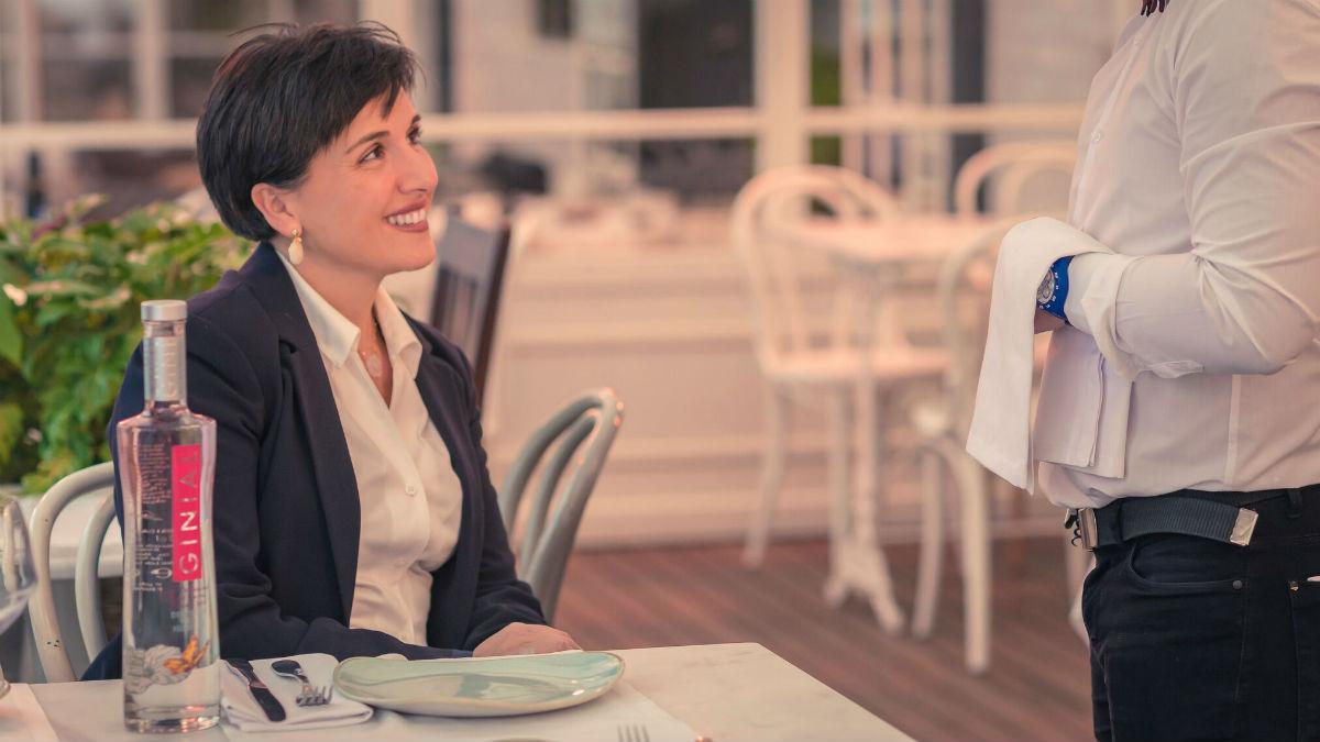 Carmen del Río, creadora de Ginial y Ginial Rosé. (Foto: Nacho Gutiérrez)
