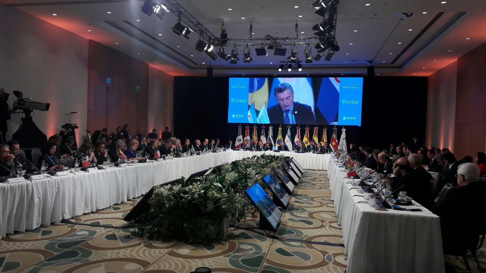 Reunión de Mercosur