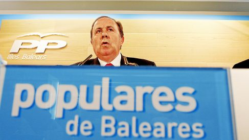 El ex delegado del Gobierno en Baleares José María Rodríguez. (Foto: PP)