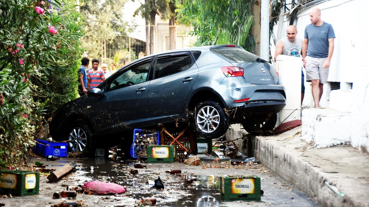 Kos tras el terremoto. (Foto: AFP)
