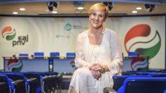 La presidenta del PNV en Vizcaya, Itxaso Atutxa. (Foto: EFE)