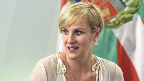 Itxaso Atutxa, presidenta del PNV en Vizcaya. (Foto: EFE)