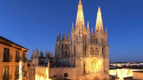 Imagen de la catedral de Burgos.