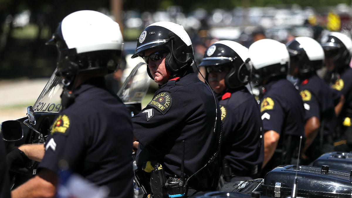 Agentes de policía del Estado de Texas (Foto: AFP).