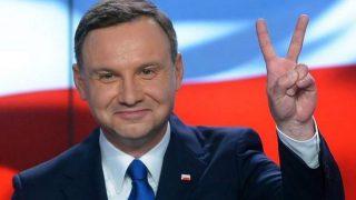 Andrej Duda, presidente de Polonia.