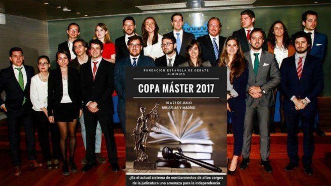 Participantes en la Copa de Debate Judicial