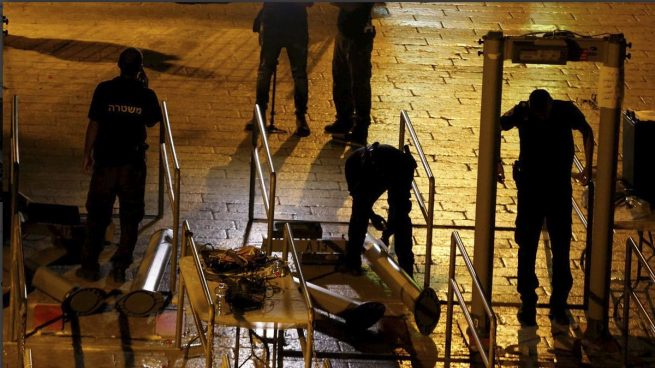 Israel retira los detectores de metales de la Explanada de las Mezquitas