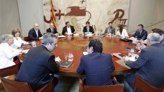 Reunión del Govern de Cataluña (Foto: EFE)