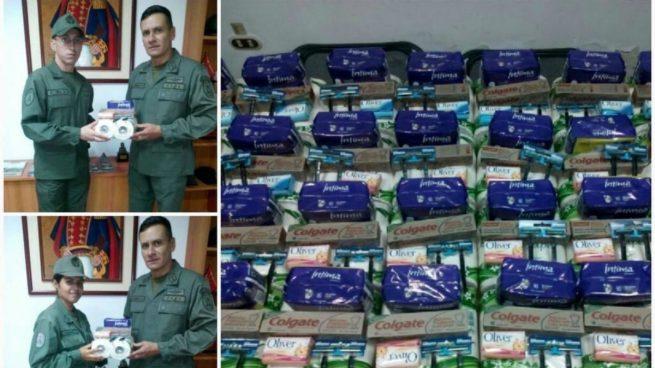Packs entregados por el gobierno venezolano