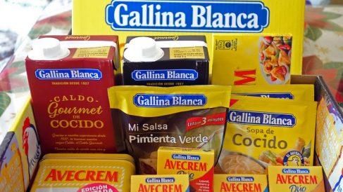 Productos de GB Foods.