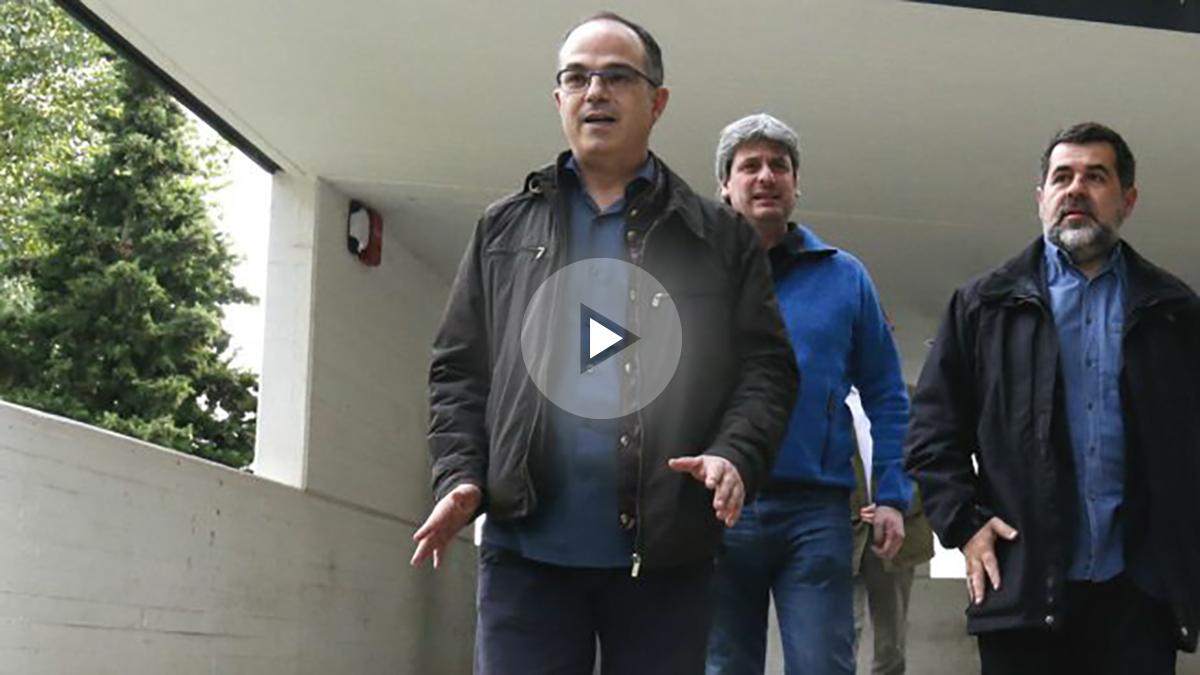 El nuevo consejero de Presidencia de la Generalitat, Jordi Turull (Foto: AFP)