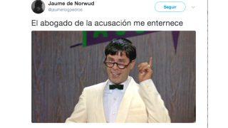 Twitter deja en ridículo al abogado que interroga a Mariano Rajoy (Foto: Twitter)