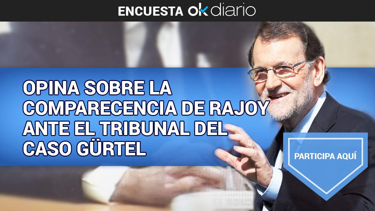 Opina sobre la comparecencia de Mariano Rajoy ante el tribunal del caso Gürtel