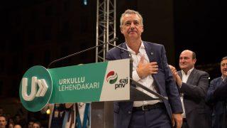 Inigo Urkullu, lehendakari vasco en un acto del PNV (Foto. Getty)
