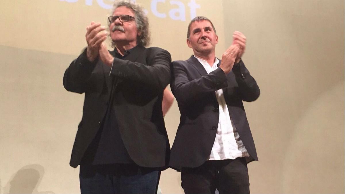Joan Tardá y Arnaldo Otegi