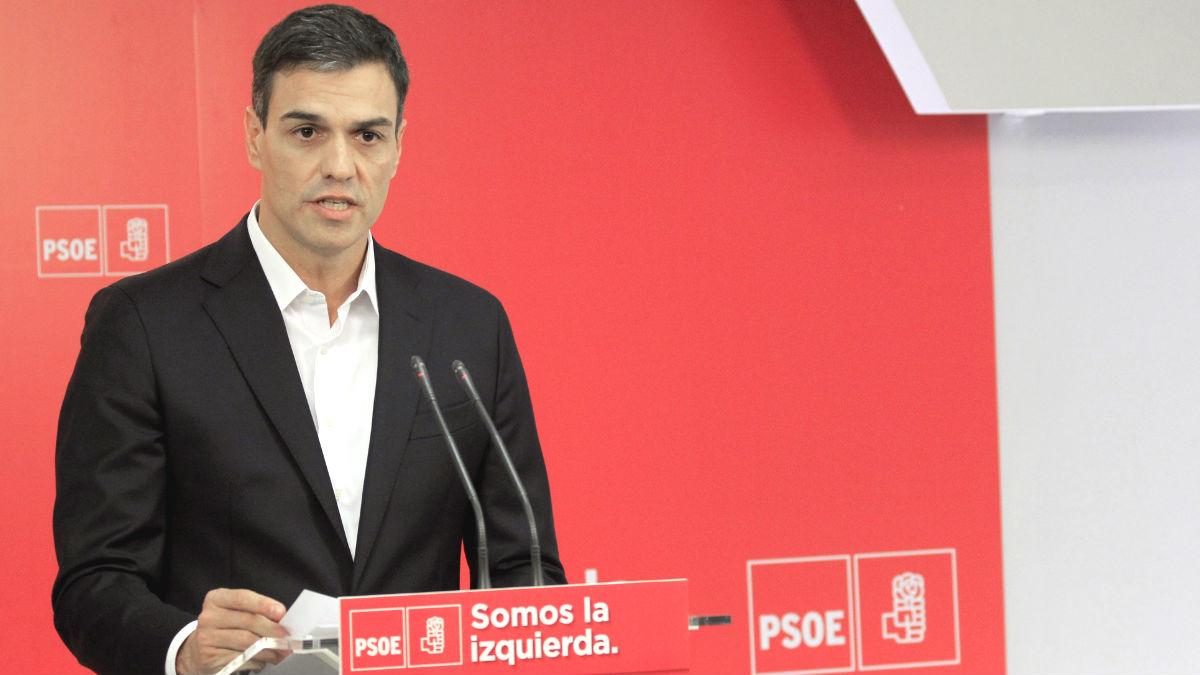 El secretario general del PSOE, Pedro Sánchez (Foto: Efe)