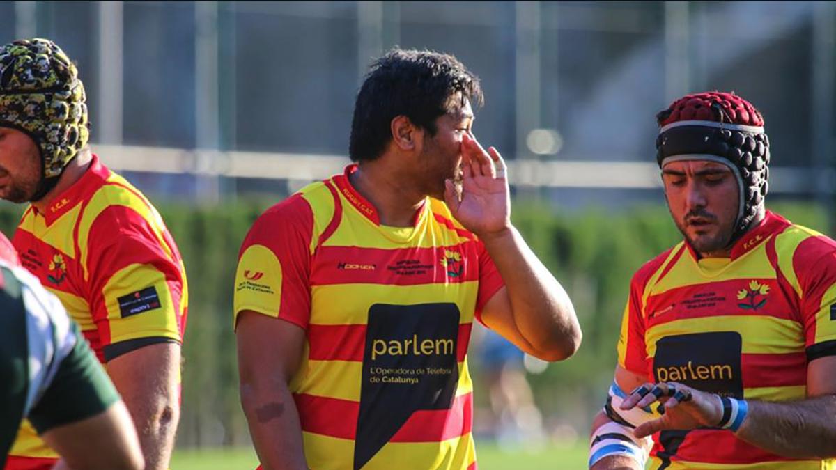 Un patrocinio de Parlem en una selección deportiva catalana.