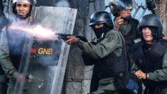 Agentes de la Guardia Nacional Bolivariana. (Foto: AFP)