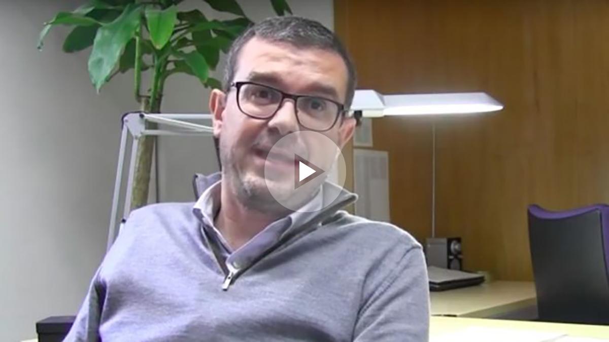 El director general de comunicación de la Generalitat, Jaume Clotet. (Foto: Youtube)