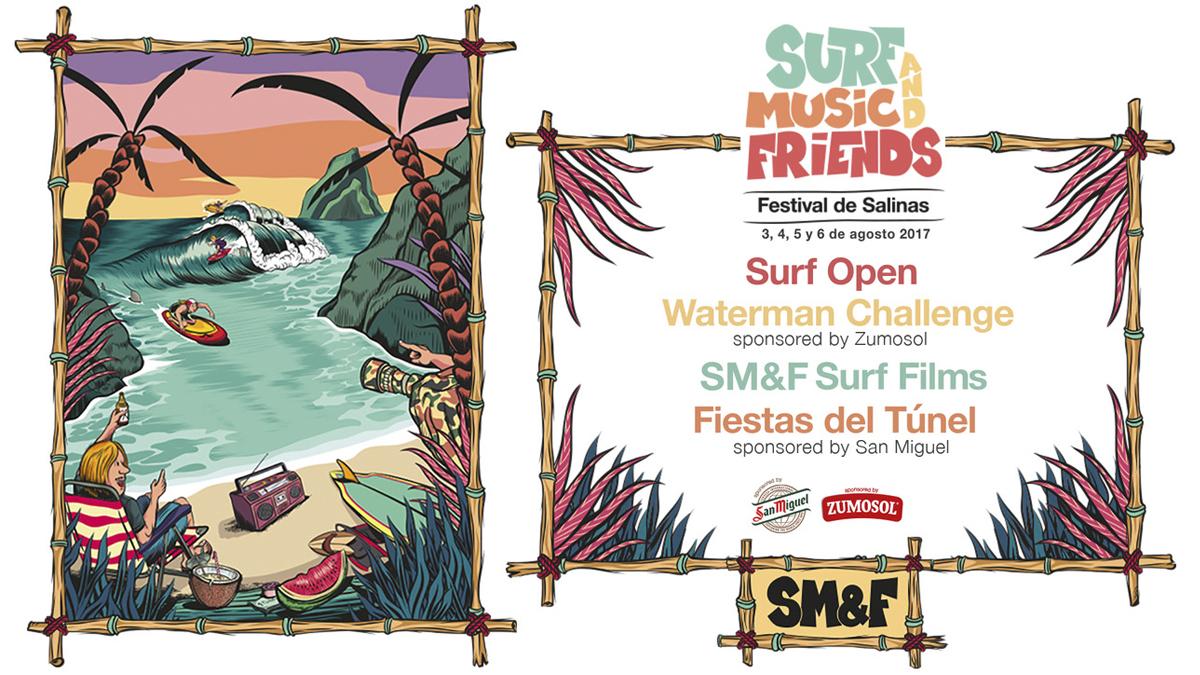 El cartel oficial del festival que tendrá lugar en Asturias de la mano de Zumosol.