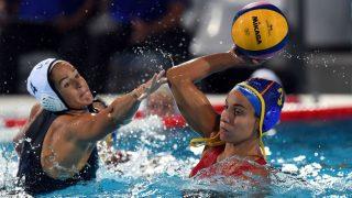 España gana la plata en el Mundial de Budapest. (AFP)