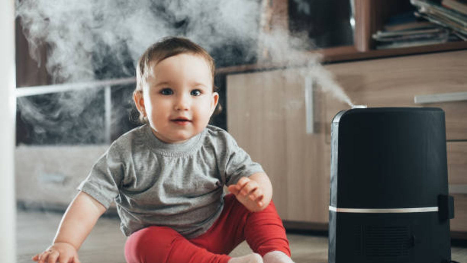 Descubre las ventajas que tiene el uso de un humidificador en el dormitorio del bebé
