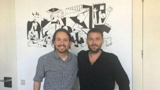 Iglesias y Dante Fachin. (Foto: Twitter)