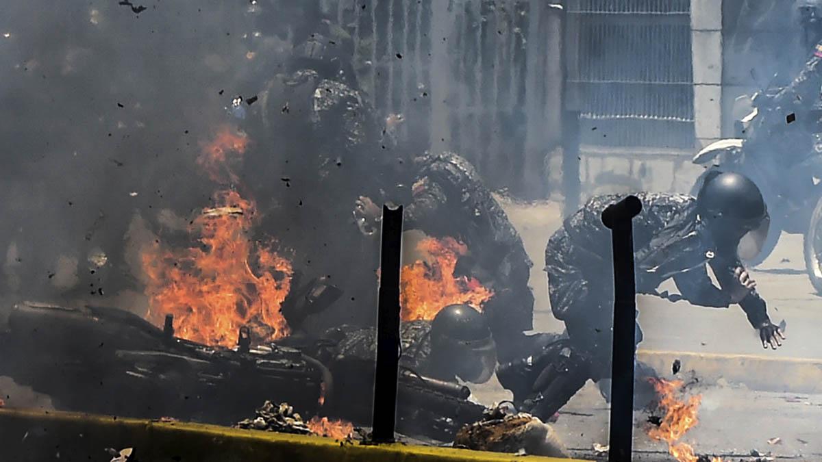 Violencia en Venezuela (Foto: AFP)