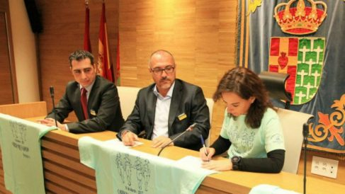 Ángel Muñoz y Sara Hernández