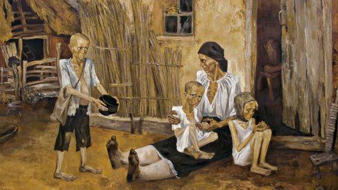 Más de un millón de personas murieron en esta hambruna artificial.