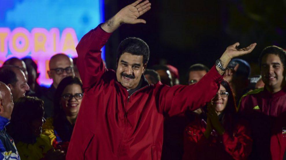 Nicolás Maduro en la Asamblea Nacional Constituyente (ANC). (Foto: AFP)