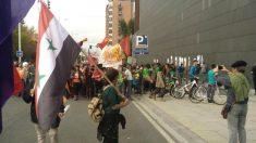 Imagen del «Tiro al fatxa» celebrado en Echarri Aranaz (Navarra) en 2015 (Foto: Twitter)