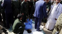 Momento previo a la ejecución. (Imagen: AFP)