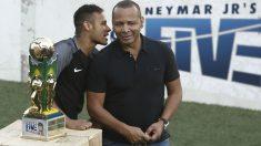 Neymar y su padre, Neymar Sr.