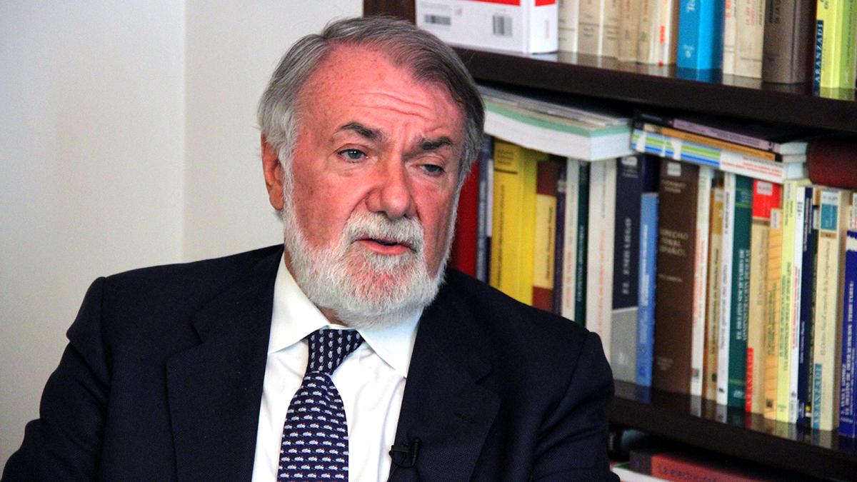 El ex ministro del Interior Jaime Mayor Oreja. (Foto: Enrique Falcón)