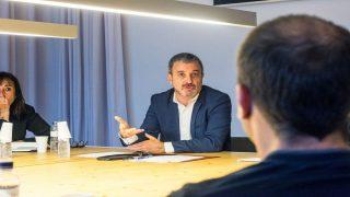 Jaume Collboni, líder del PSC en Barcelona.