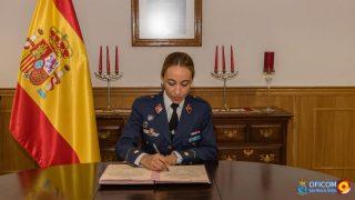 La comandante Mañas, nueva jefa del ECAO Madrid.