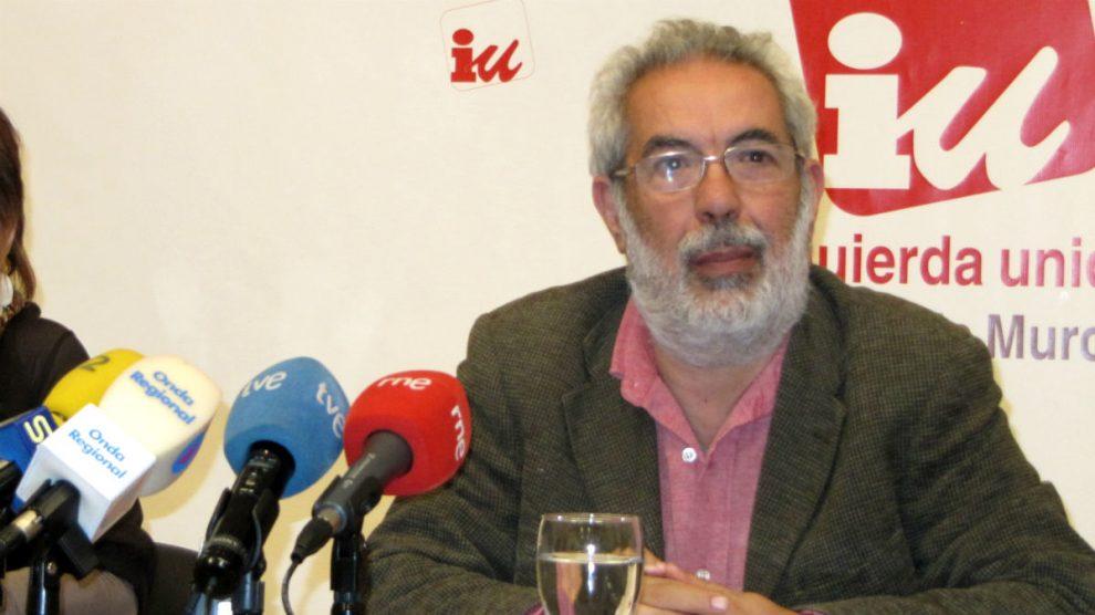 El responsable federal de Empleo y Relaciones Laborales de Izquierda Unida, José Antonio García Rubio