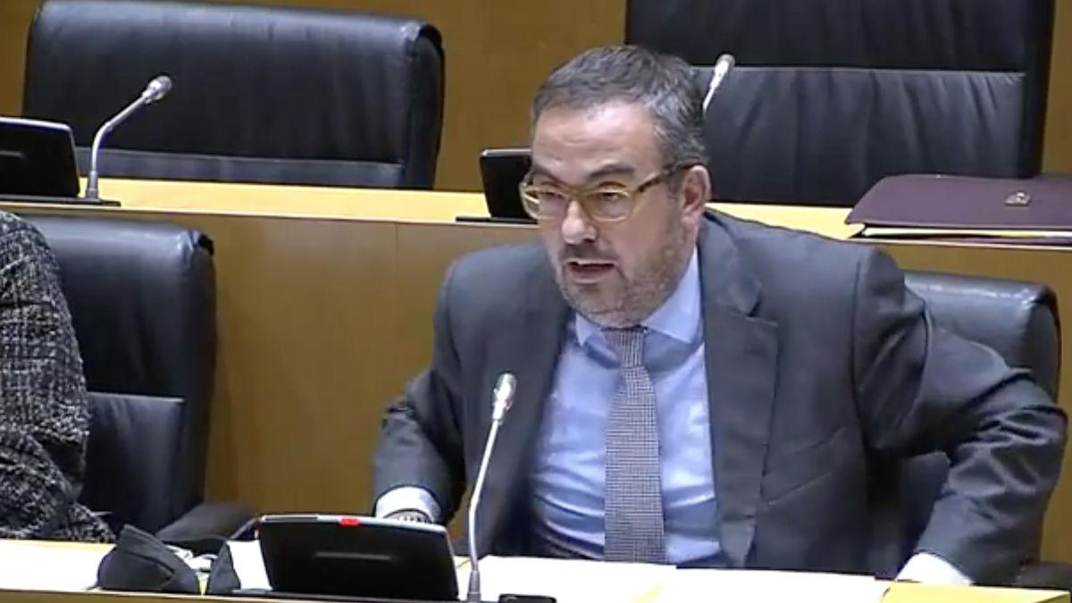 El nuevo director general de Atención a la Familia y Comunidad Educativa de la Consejería de Enseñanza, Martí Barberá (Foto: Youtube)