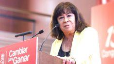 Cristina Narbona, presidenta del PSOE. (Foto: EFE)